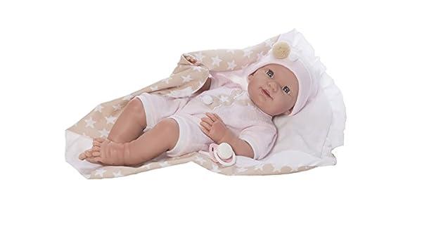 Amazon.es: Muñeco Baby Recién Nacido Star 37 cm. Estuche ...