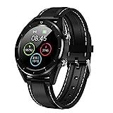 Smart Bracelet, YiMiky IP68 Waterproof Sport Watch Activity Tracking Heart Rate Bluetooth Fitness Bracelet Multi Sport Modes Fitness Tracker Wristband Sport Wristwatch Blood Oxygen - Black