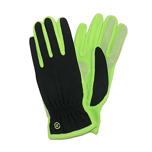 Isotoner Women's Unlined Glove (Lime Punch, One Size)