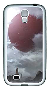 Samsung Galaxy S4 I9500 Cases & Covers - Red Planet Custom TPU Soft Case Cover Protector for Samsung Galaxy S4 I9500 - White