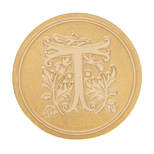 Vintage Classic Alphabet Initial Wax Seal Stamp 26