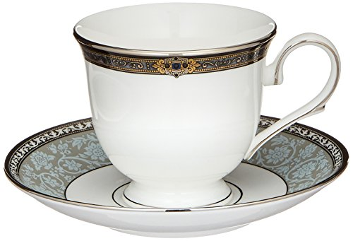 Lenox Vintage Jewel Platinum-Banded Bone China 5-Piece Place Setting, Service for 1 by Lenox (Image #6)