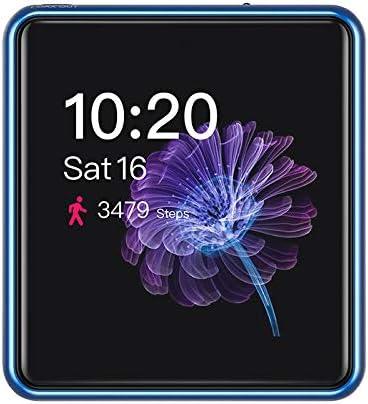 FiiO フィーオ M5 ブルー FIO-M5-L ハイレゾ対応 384kHz/24bit 5.6MHz DSD SBC/AAC/aptX/aptX HD/LDAC対応 USB DAC機能搭載 連続再生時間13.5時間 タッチスクリーン microSD最大2TBまで対応 USB Type C端子