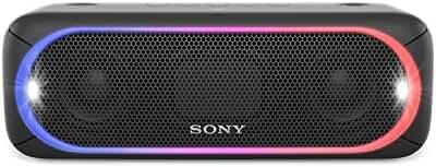 Sony XB30 Portable Wireless Speaker with Bluetooth, Black (2017 model)