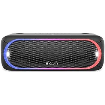 Sony SRSXB30/BLK XB30 Portable Wireless Speaker with Bluetooth, Black