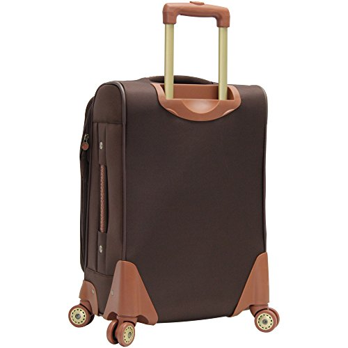 Caribbean Joe Castaway 4-Piece Spinner Luggage Set (Chocolate)