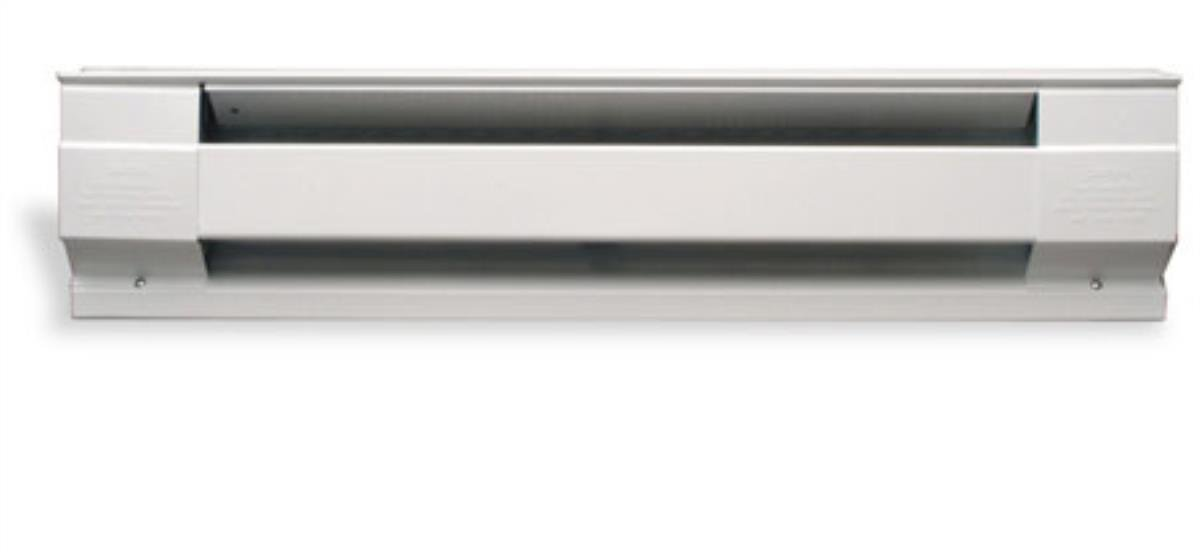 Cadet Manufacturing White 05536 120-Volt Baseboard Hardwire Electric Zone Heater, 1500-Watt, 12.5-Amp, 72-Inch, 1500 W