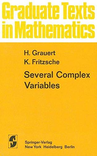 Several Complex Variables (Graduate Texts in Mathematics)