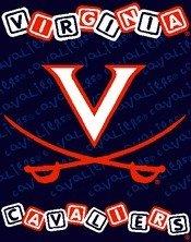 Virginia Cavaliers 36x48 Woven Baby Throw Fleece Blanket - NCAA Licensed