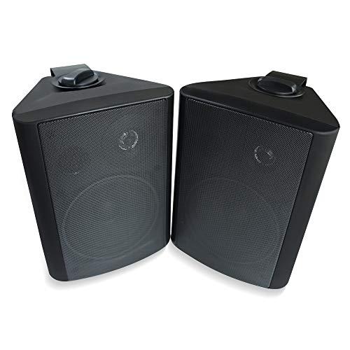 Herdio 5.25 Inches 200 Watts Indoor Outdoor Patio Deck Speakers