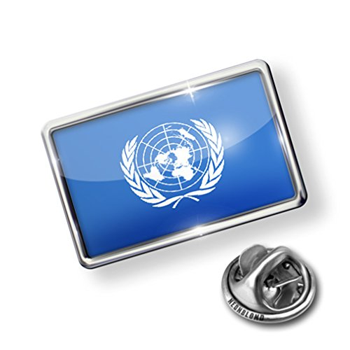 Atlanta Pin (Pin United Nations (UN) Flag - Lapel Badge - NEONBLOND)