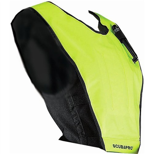 Scubapro Cruiser Snorkeling Vest, Black/Yellow - Large