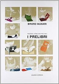 coffret i prelibri / prélivres / prebooks par Bruno Munari