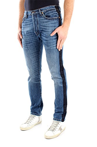 Jeans Valentino Hombre Algodón Azul Denim KV0DEJS131K598 Azul 29