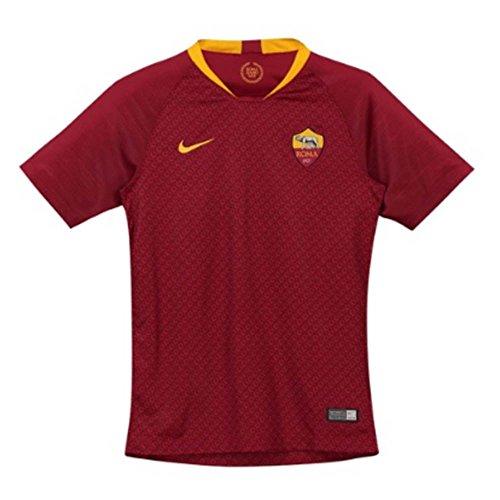 Nike 2018-2019 AS Roma Home Football Soccer T-Shirt Jersey (Kids)