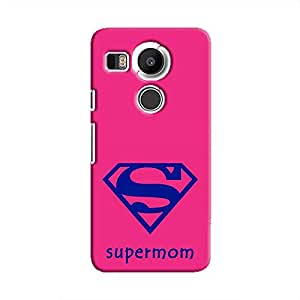 Cover It Up Supermom Hard Case For Nexus 5X - Pink