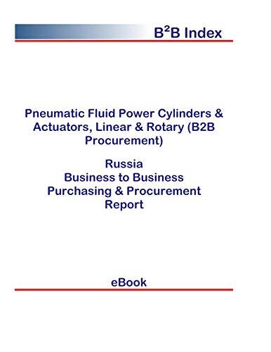 Pneumatic Fluid Power Cylinders & Actuators, Linear & Rotary (B2B Procurement) in Russia: B2B Purchasing + Procurement Values