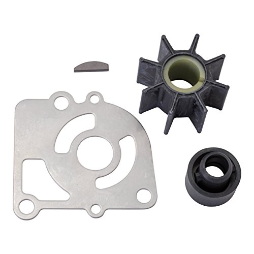 Quicksilver 803748Q02 Water Pump Impeller Repair Kit - Mercury 9.9 Horsepower 4-stroke BigFoot Outboards