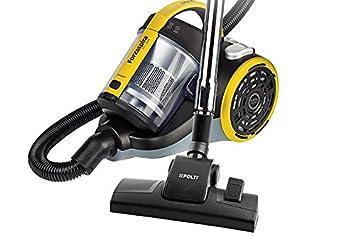 Polti Forzaspira C115_Plus - Aspirador ciclónico, doble clase A, sin bolsa, Amarillo: Amazon.es: Hogar
