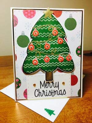 Ink Pads Stamps Of Life Christmas Tree Stamps For Card Making And