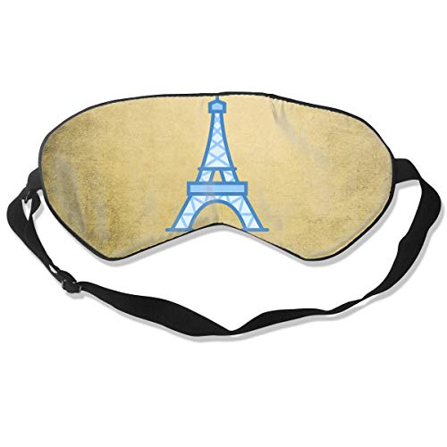Sleep Mask Paris Eiffel Tower for Women & Men Night Blindfold Light Blocking Comfortable Eye Shade Sleeping Aid with Adjustable Strap for Travel Nap Shift Work]()