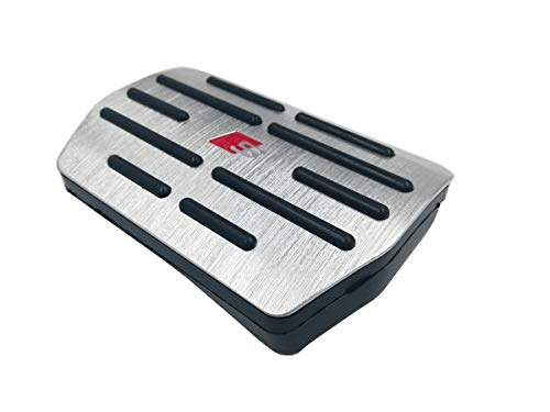 Moonlinks Compatible with Audi 2010-1015 Q7 Gas Brake Pedal Anti-Slip Aluminium Alloy Gas and Brake Pedal Covers (for Q7) by Moonlinks (Image #1)
