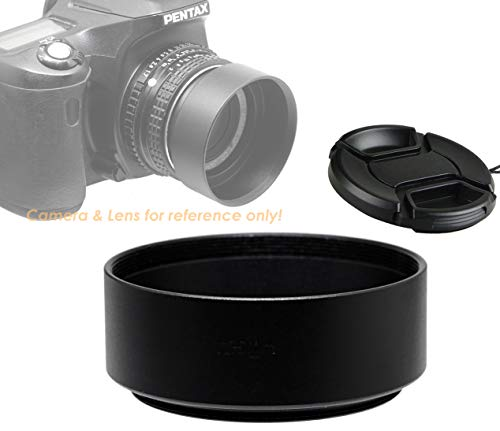 - Fotasy Metal 49mm Lens Hood, 49mm Lens Hood for Canon Fuji Leica Leitz Nikon Olympus Panasonic Pentax Sony Lens, Screw-in Design