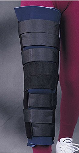 "Bird & Cronin 08142675 Bicro Knee Immobilizer with Patella Strap, 18"", Universal"