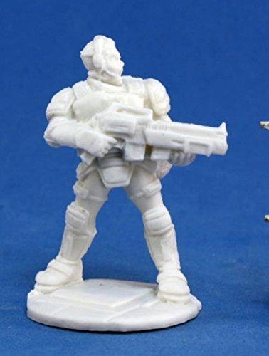 Reaper Miniatures 80014 Bones - Chrono Garvin Markus, Nova Hero
