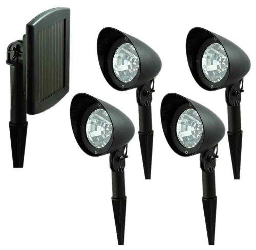 Nature Power 21144 Solar Powered Spot light System 4 Lights