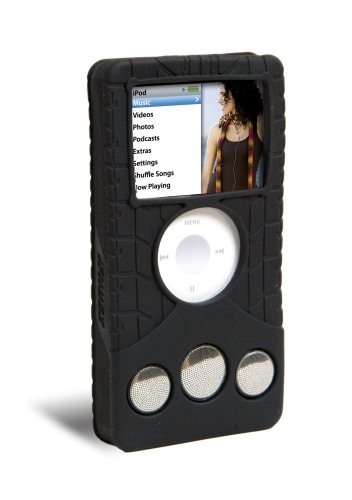 ifrogz Audiowrapz Treadz Speaker Case for iPod nano 3G (Black) (Ifrogz Ipod Nano)