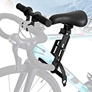 TWSOUL Kids Bike Seat for Mountain Bikes, with Handlebar Attachment, Detachable Front Mounted Bicycle Seats fo