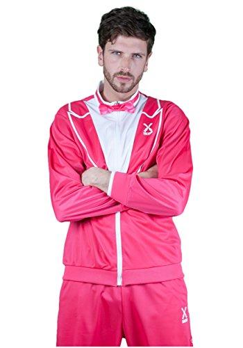 Traxedo Men's - The Flamingo, Hot Pink, Large - One Leg Man Flamingo Costume