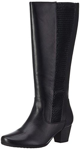 Caprice25504 - botas de caño alto Mujer negro