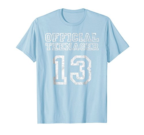 13th Birthday Official Teenager Shirt 13 Years old
