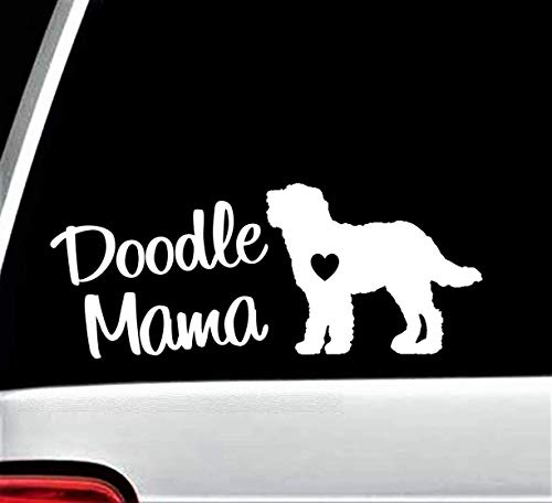 Doodle Mama Decal Sticker for Car Window 8 Inch BG 158