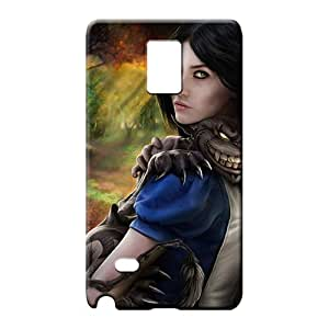 samsung note 4 Popular Hot Protective Cases mobile phone carrying skins Alice Madness Return