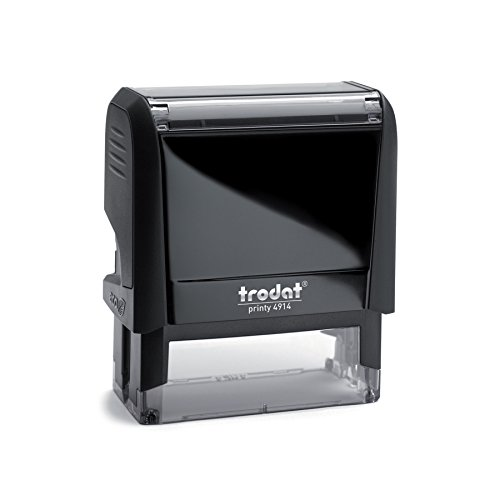 Trodat Printy 4914 Personalized Individual Custom Self Inking Stamp (1