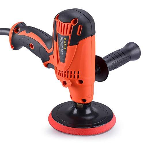 miniflower 220V Car Polishing Buffer Sander high Speed OrbitaWaxing Machine Beauty Tool for Car Household Sealing