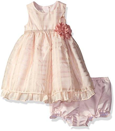 Laura Ashley London Baby Girls' Soft Party School Plaid Dress, Multi, 12 Months School Plaid Dress