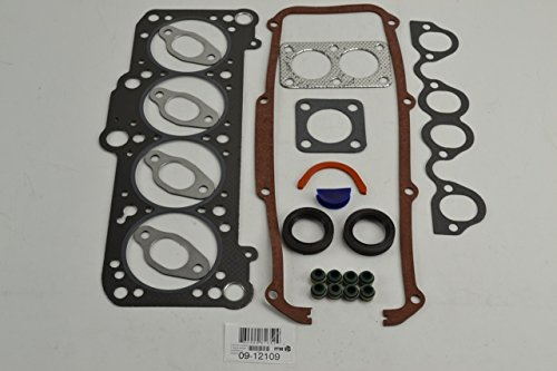 ITM Engine Components 09-12109 Cylinder Head Gasket Set for Audi/Volkswagen 1.8L L4, Fox, Golf, Jetta W/O Exhaust Flange (Volkswagen Cylinder Head Gasket)