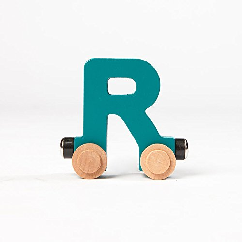 Magnetic Alphabet Train - Fat Brain Toys Spell-Your-Name Alphabet Railroad - Letter R