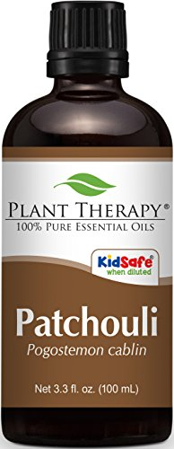 Plant Therapy Patchouli Essential Oil 100 mL  100% Pure, Und