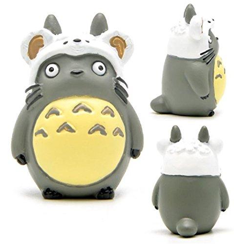 [1pcs DIY Studio Ghibli Hayao Miyazaki Anime My Neighbor Totoro Zodiac PVC Action Figure Toys Collection Model Toy Gifts for Kids] (Totoro Diy Costume)