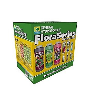 (General Hydroponics Flora Series Performance Pack)