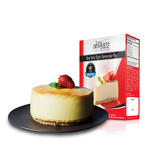 Add Water & Bake, NY Style Cheesecake Mix, 14 Ounce by Les Desserts