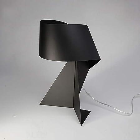 DU HUI Moderna Minimalista Creativa Lámpara de Mesa de Hierro ...