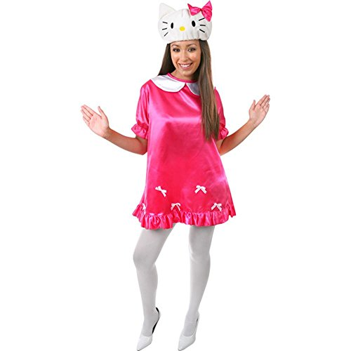Adult Hello Kitty Costume Size: Women's Medium 8-12]()