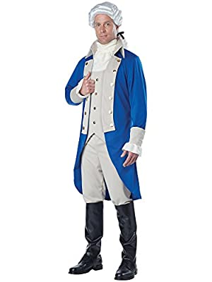 Adult Alexander Hamilton/George Washington Costume
