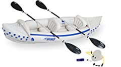 Sea Eagle Sport Kayaks pack to a fraction of their inflatable size, can be carried almost anywhere there is water and set up in less than 10 minutes! They are great fun for beginners and experienced paddlers alike. With a lightweight design a...